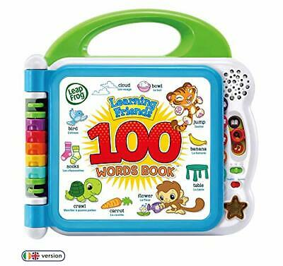 LeapFrog 601503 Learning Friends 100 Words Baby Book Educational and Interactive