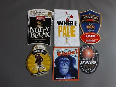 6 Assorted Brewery Pump Clips (22)