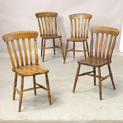 Antique Kitchen Windsor Chairs (delivery available) Lath back