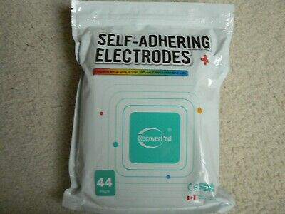 Self-Adhering Electrodes 44 Pads Compatible With Tens, Ems