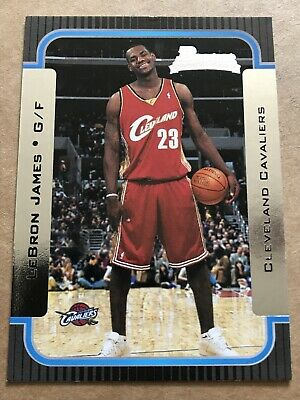 2003-04 Bowman  Lebron James Rookie Card #123