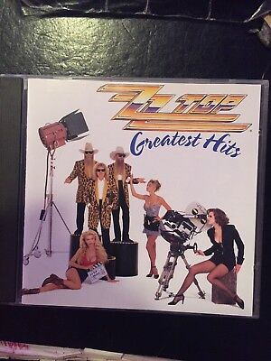 ZZ Top Greatest Hits Used 18 Track Best Of Cd Soft Rock Metal 70s 80s 90s