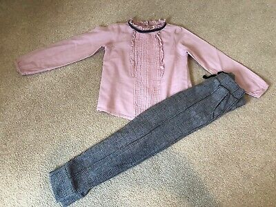 Girls Next Outfit Age 5-6 Years Trousers And Blouse