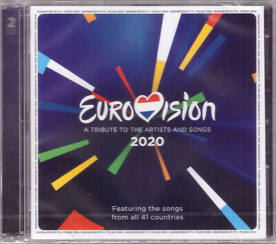 Eurovision Song Contest 2020 A Tribute 2 CD Polish Edition