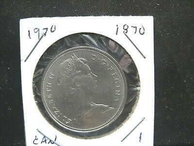 1970 Canada Manitoba Nickel Dollar One Dollar Canadian Coin Not In Case BU