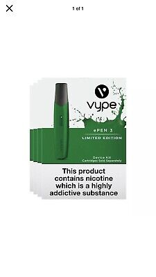 Vype ePen 3 Limited Edition £6 Or 2 £10