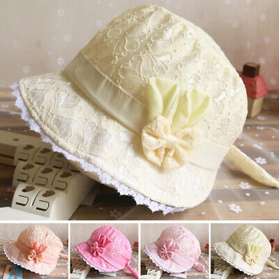Cute Baby Sun Hat Summer Beach Hat Bucket Cap Newborn Toddler Kids Boy Girl LOT