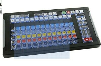 X-Keys 99-Keys USB Wirecast Control Surface, Blue and Red Backlighting