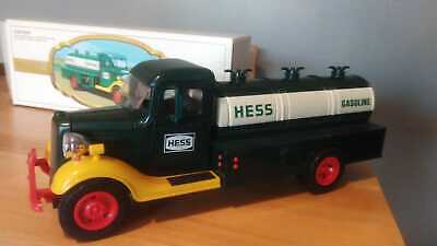 The First Hess Truck 1983 Black Switch & Original Box