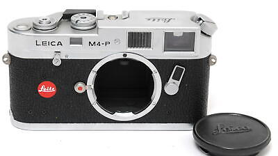 Leica M4-P Silver RARE body without  Anniversary engraving
