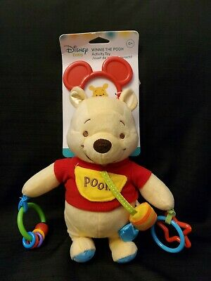 Adorable Disney Baby Winnie The Pooh Activity Toy