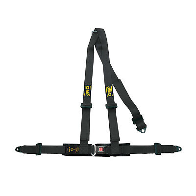 OMP 3 - points Safety Belts ECE, DA504 Black