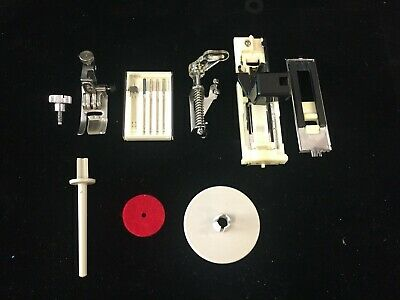 Lot Assorted Accessories For Janome New Home Memory Craft 7500 Sewing Machine
