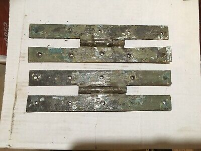 """10"""" Hand Forged """"H-L"""" Hinge Pair. 18th Century"""