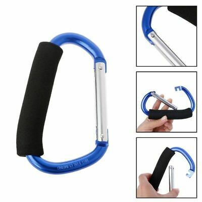 Shopping Bag Handle Climbing Hook Clips Carrier Pushchair Hangers Accessories
