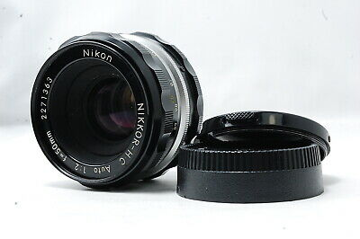 *Not ship to USA*  Nikon NIKKOR-H・C Auto 50mm F2 Non-Ai Lens  SN2271363 *Exc++*