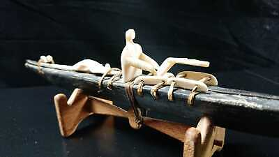 167# Mid 20th Century INUIT Toy Kayak - Greenland
