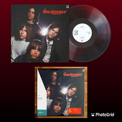 The Stooges, (John Cale Mix) 180g LP. New, Red & Black Coloured Vinyl Me Please