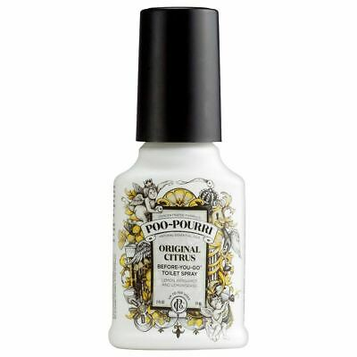 4oz Original Citrus Poo Pourri Before You Go Toilet Spray Freshener Odour 118ml