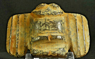 Chinese Hongshan Jade Immortality Falcon Amulet! 80+ Characters w/Translation