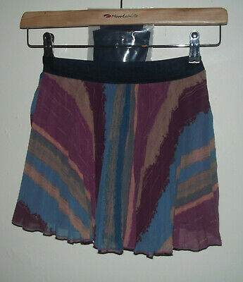 Girls Marks And Spencer Skirt with Tights Age 8 Years ( 7 - 8 ) BNWT RRP £18