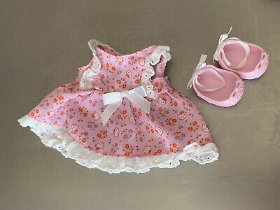 "Hello Kitty Doll's Pink Dress  Ballet Shoes For 13"" Doll VGUC"
