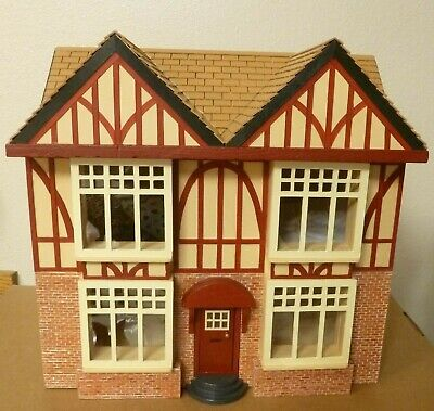 "Miniature 1/2"" Scale Dollhouse Hand Crafted"