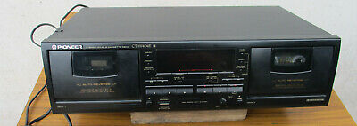 Quality Pioneer Stereo Double Cassette Player. Malaysia. Not Tested