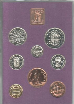 50th Birthday Gift - Coinage of Great Britain & Northern Ireland 1970 proof set.
