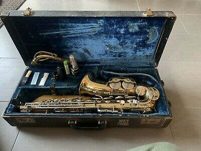 Alto Saxophone by FE Olds.  Parisian Ambassador Model, Made in France