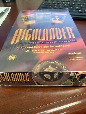 HIGHLANDER THE CARD GAME 30 Pack Limited Edition Display Booster Box