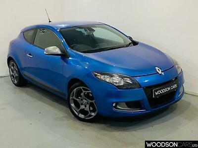 2010 10 Renault Megane 2.0 Gt Tce 3D 180 Bhp In Malta Blue.  Hot Hatch