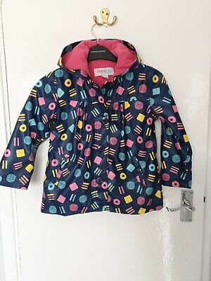 Girls Minizzz Rain Coat Jacket Age 5 Years