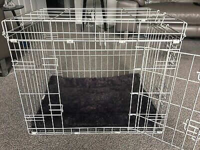 Small Dog Cage. 60cm by 43cm by 47cm.