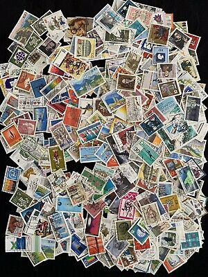 Job Lot 500 West German Commemorative Postage Stamps - Off Paper