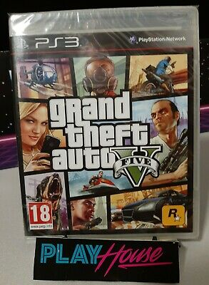 Gta 5 Grand Theft Auto Ps3 Playstation 3 PAL EU Nuovo Compreso Italiano Rockstar