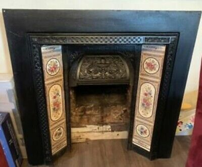 Victorian Style Fireplace Surround Complete Log Burner
