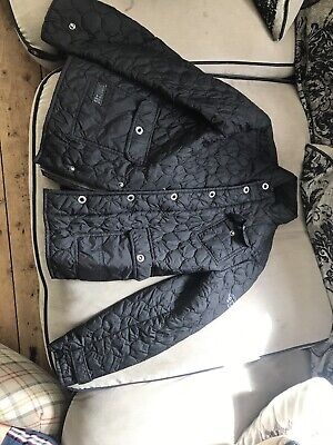 Girls Firetrap Black Jacket Age 13-14