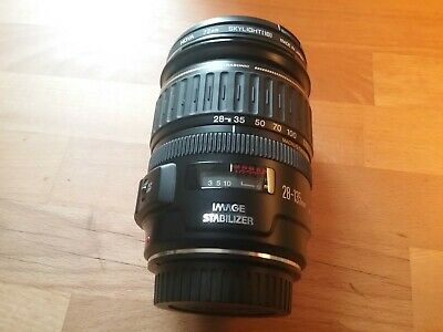 Canon EF 28-135mm F/3.5-5.6 IS USM Lens good but used condition