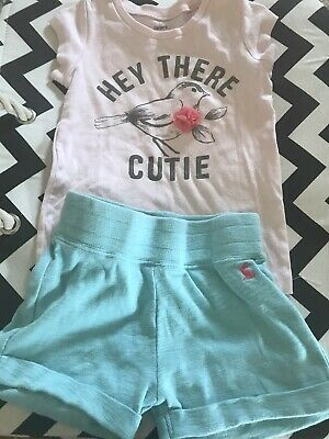 Joules Girls Shorts And Carter T Shirt Set Age 4-5