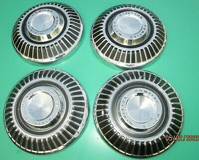 1964 1971 Pontiac Gto Parisienne Laurentian Strato Chief Dog Dish Poverty Hubcap