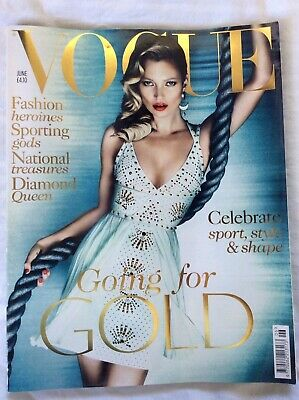 Vogue UK - June 2012 issue - Kate Moss cover
