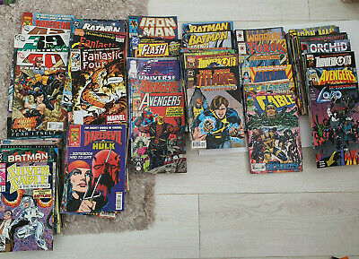 Bulk Comic Collection Over 130 Mostly modern issues (Lot of Mystery Comics)