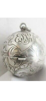 Superb Silver Coin Holder/Half Sovereign Holder American  Foster And Bros