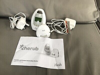 Hush cherub portable and compact audio baby monitor