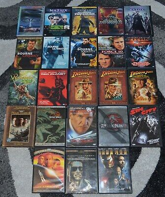 Lot of 23 Movies DVDS - Action Adventure Titles