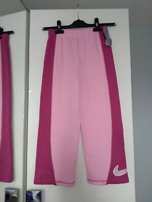 NIKE Girls Joggers 6yrs Colour Pink
