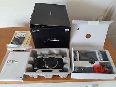 Fujifilm X-T3 Mirrorless Camera in Silver (Lens Not Included)