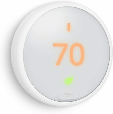 Google Nest ThermostatE - White - Smart, Programmable (T4000ES)