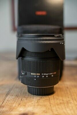 Sigma Nikon DX F Mount 17-50mm f/2.8 OS HSM DC Lens (Includes Polarising Filter)
